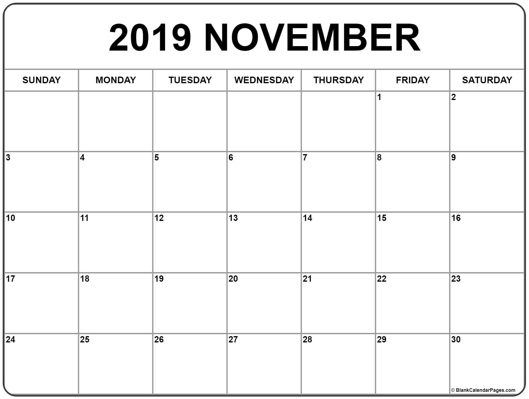 November 2020 Calendar Template  Bolan.horizonconsulting.co intended for November 2020 Calendar Excel