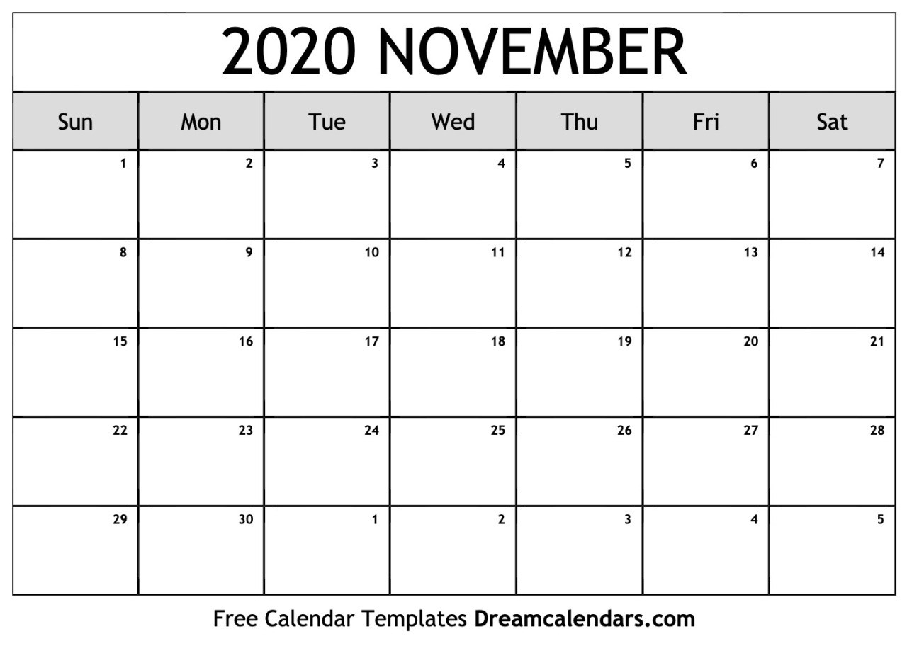 November 2020 Calender | Teekayshippingcorporation with regard to Studyblr Calendar 2020