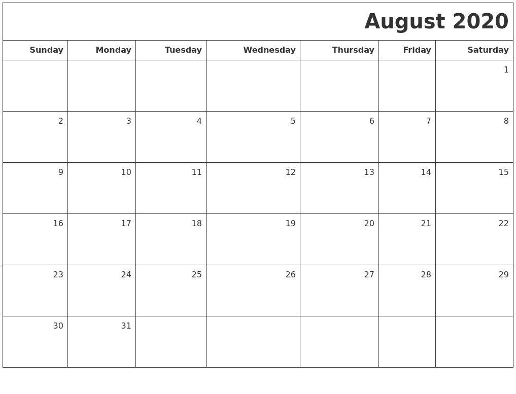 November 2020 Print A Calendar 2020 Calendars Free Printable within Printable 2020 Calendar Starting Monday