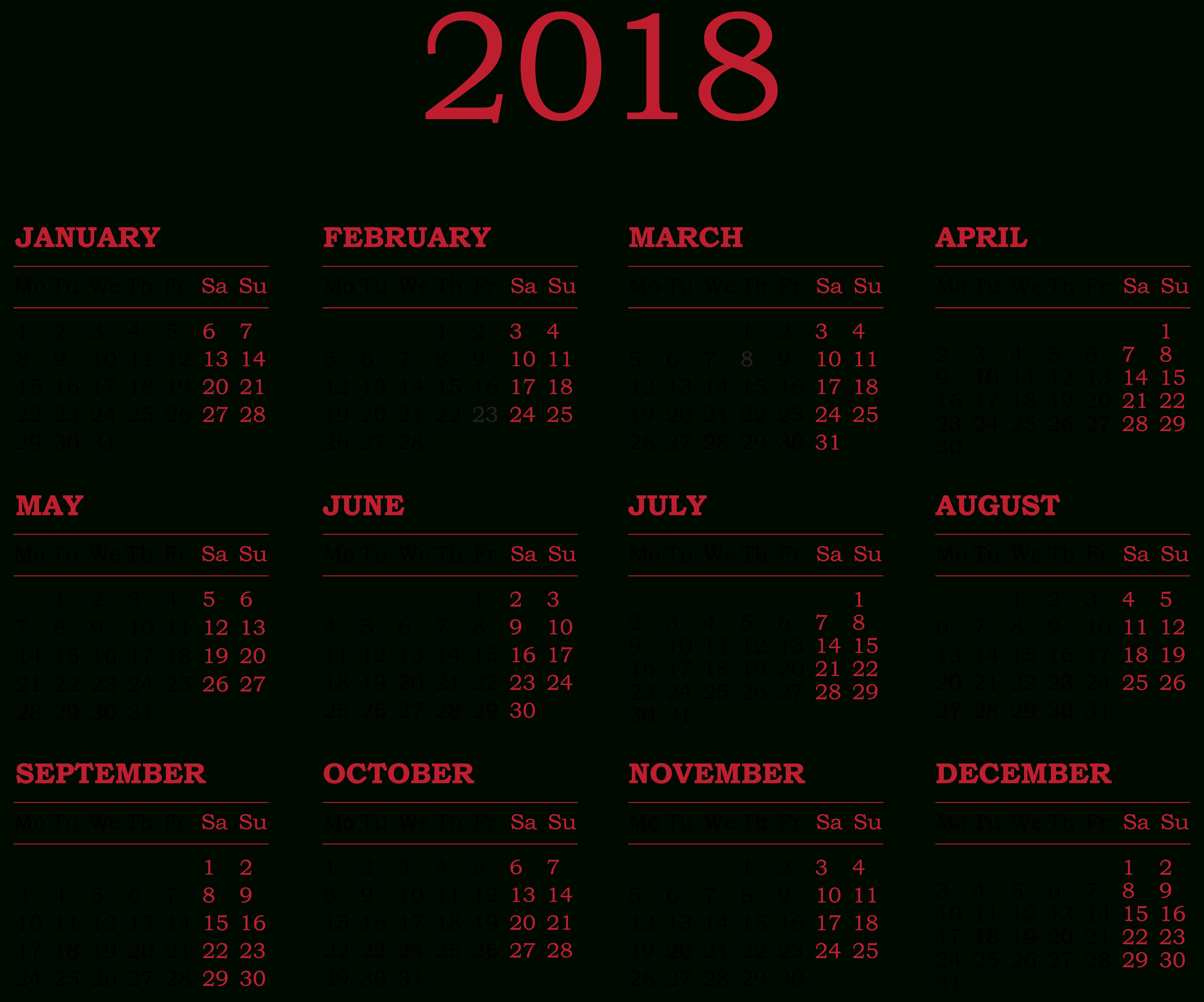 November Clipart Monthly Calendar, November Monthly Calendar in November Calendar 2020 Transparent