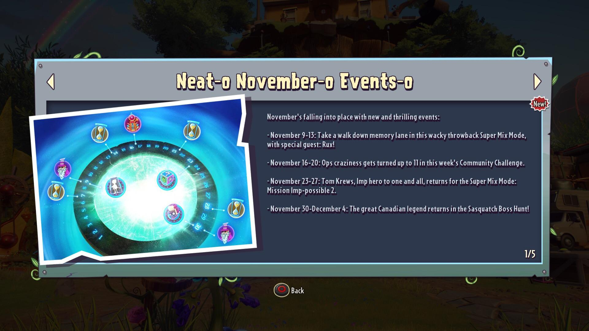 November Events Calendar! : Pvzgardenwarfare pertaining to Plants Vs Zombies Garden Warfare 2 Calendar