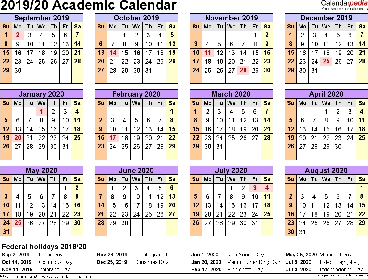 Nus 20192020 Academic Calendar  Calendar Inspiration Design inside Nus 2020 Academic Calendar