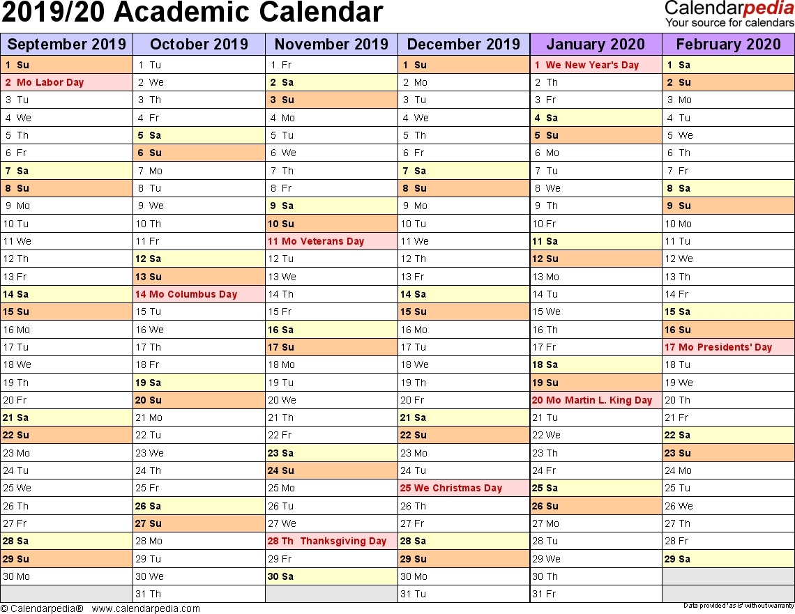 Nus 20192020 Academic Calendar  Calendar Inspiration Design inside Nus Academic Calendar