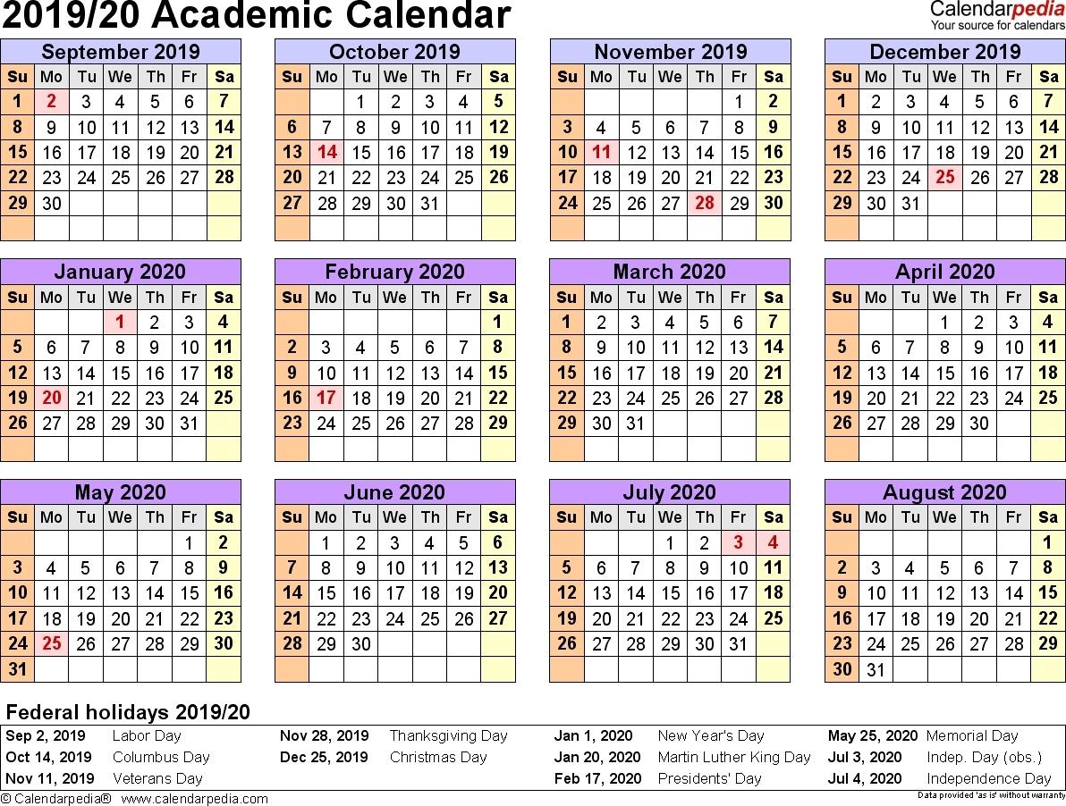 Nus 20192020 Academic Calendar  Calendar Inspiration Design intended for Nus Academic Calendar