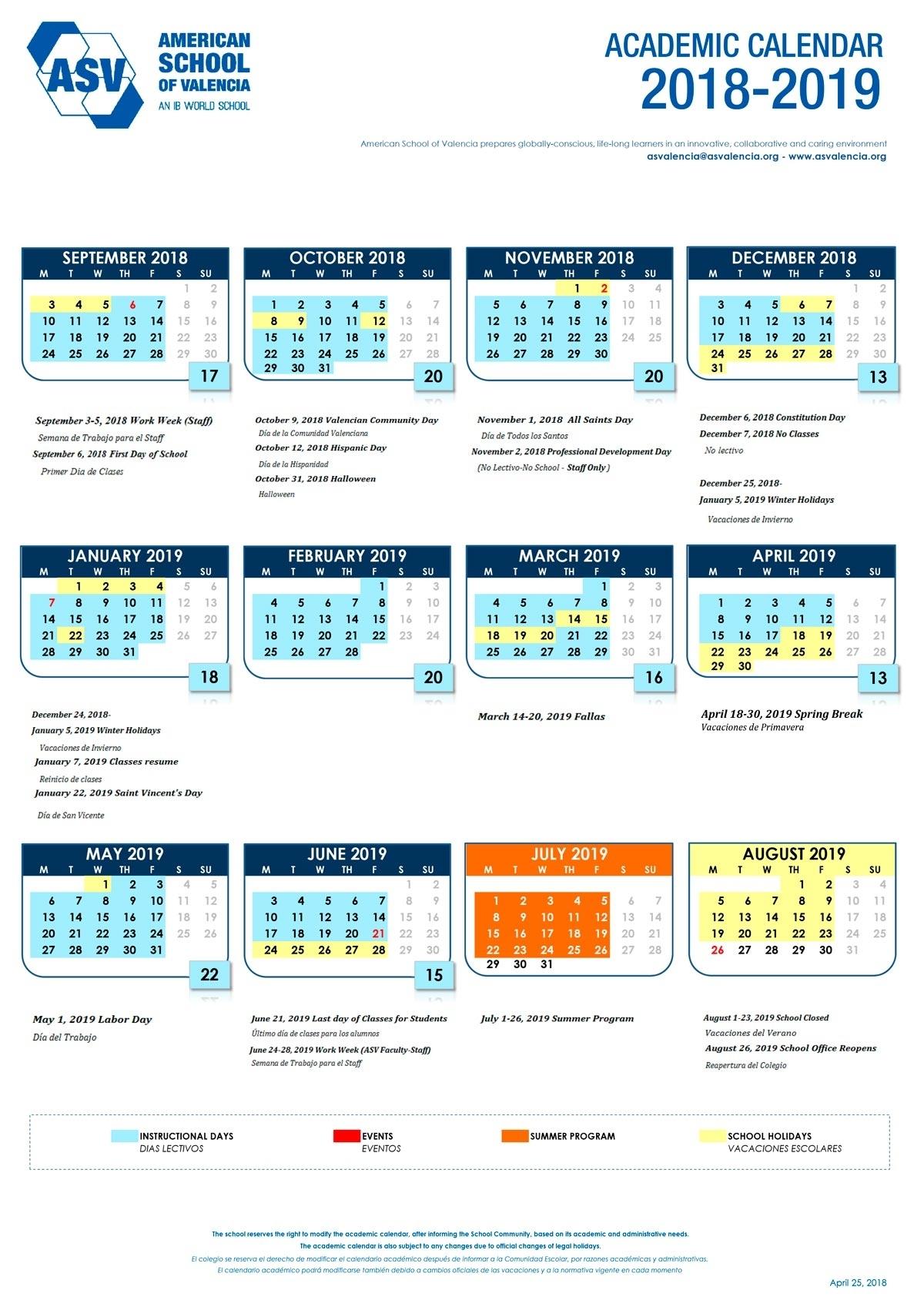 Nus 20192020 Academic Calendar  Calendar Inspiration Design pertaining to Berkeley Academic Calender