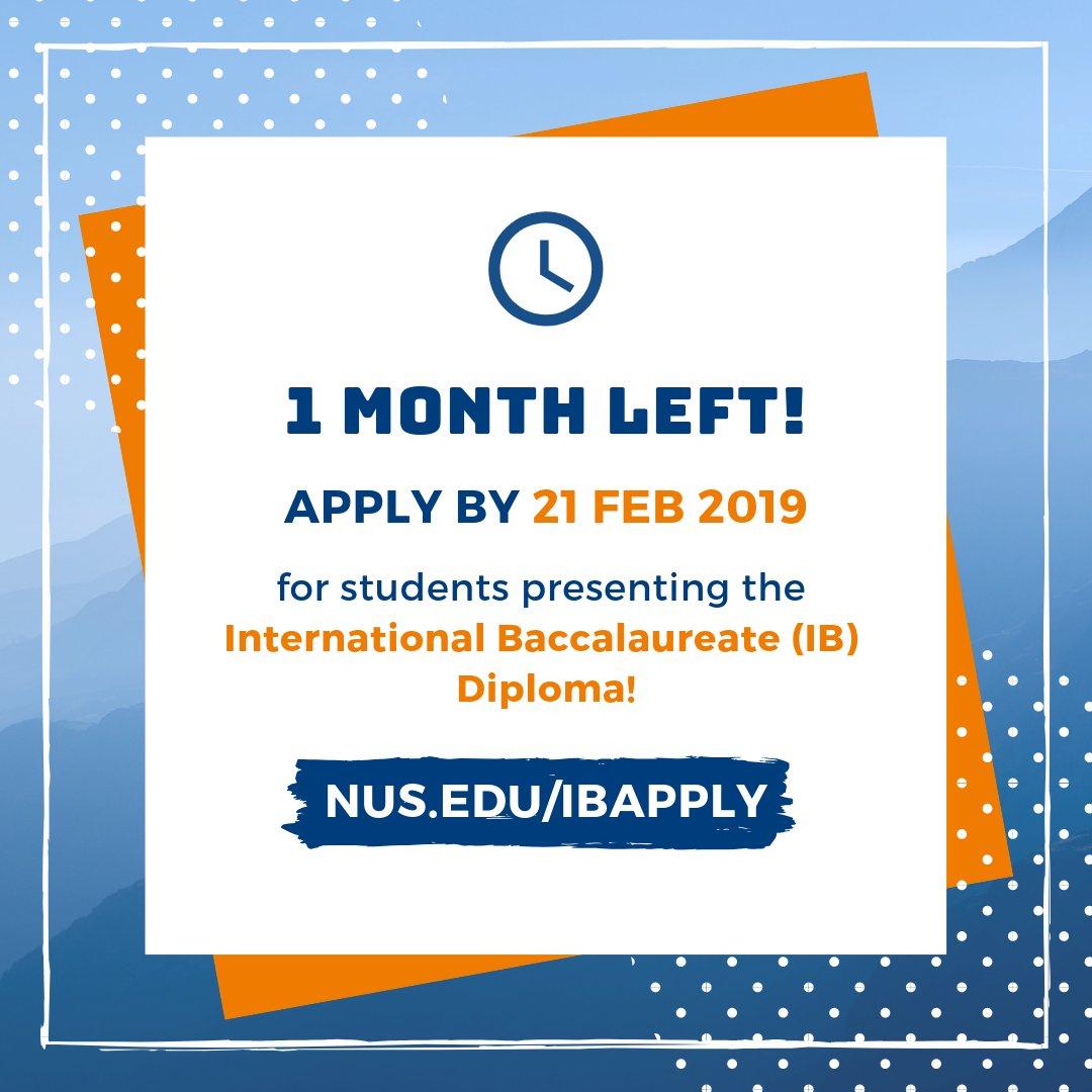 Nus Admissions (@nusadmissions) | Twitter for Nus Igp 2020