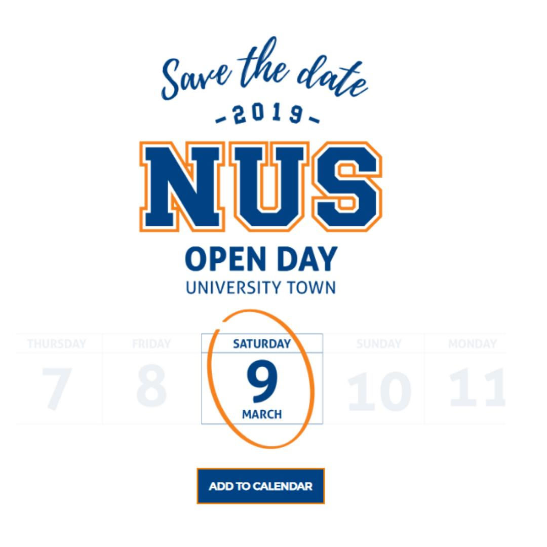 Nus Admissions (@nusadmissions) | Twitter intended for Nus Igp 2020