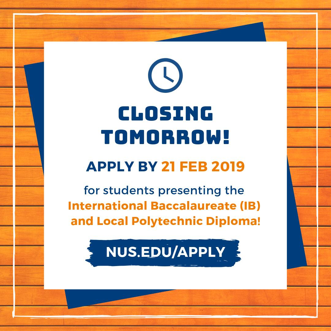 Nus Admissions (@nusadmissions) | Twitter with regard to Nus 2020 Academic Calendar