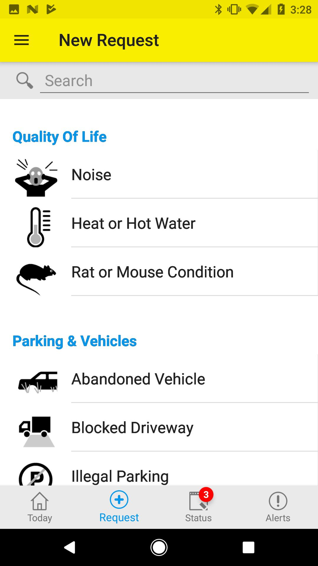Nyc 311 For Android  Apk Download regarding Nyc Alternate Side Parking Calendar 2020