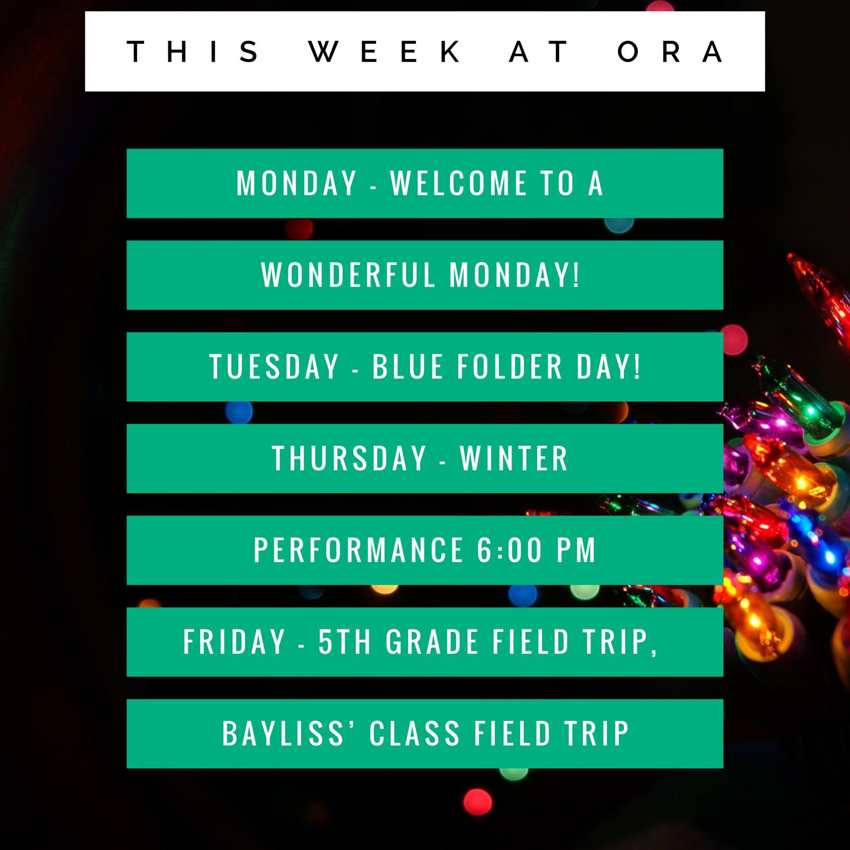 Oaks Road Academy  Homepage in Roger Rowe School Calendar