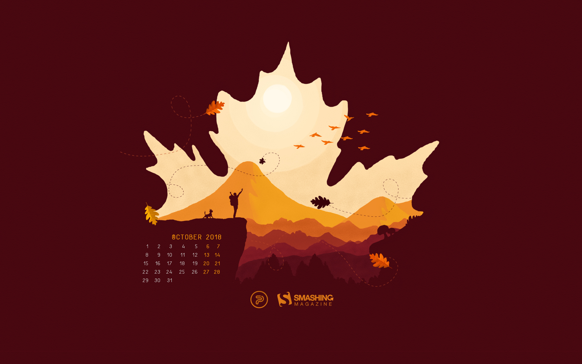October Magic For Your Desktop (2018 Edition) — Smashing inside Smashing Magazine Calendar