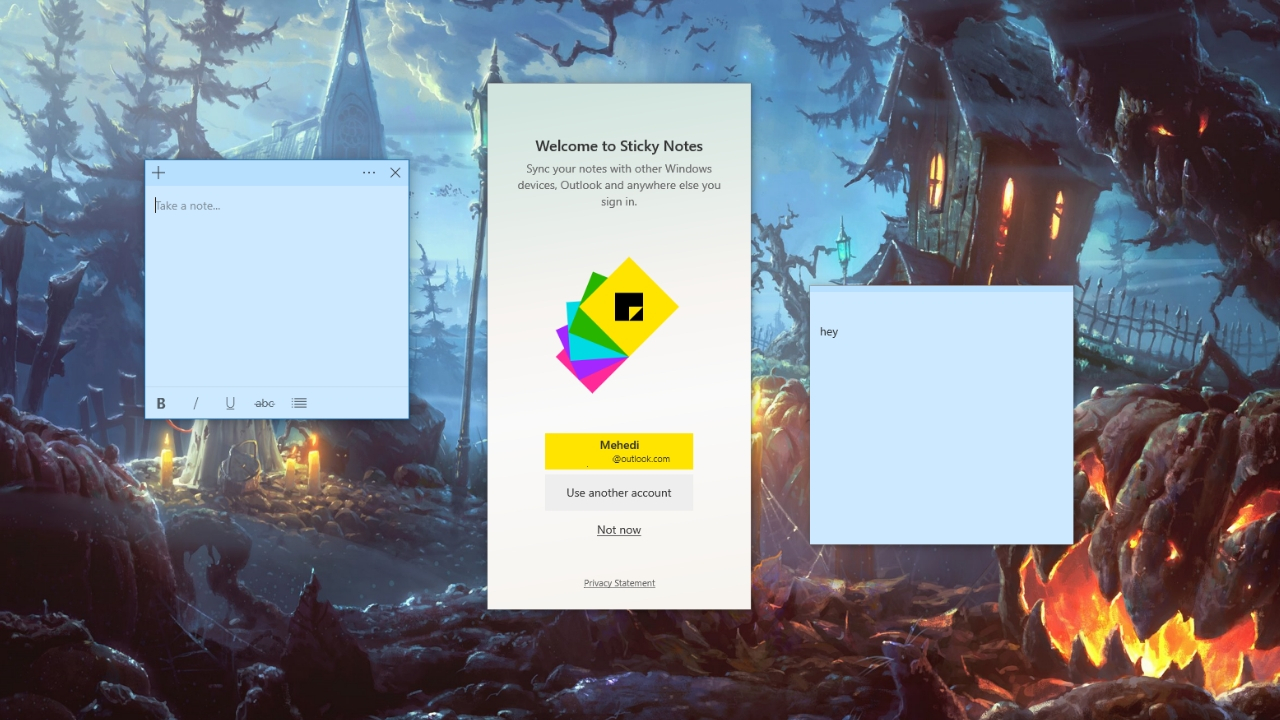 Onenote Will Soon Sync Your Sticky Notes  Thurrott in Windows 10 Widgets Notes