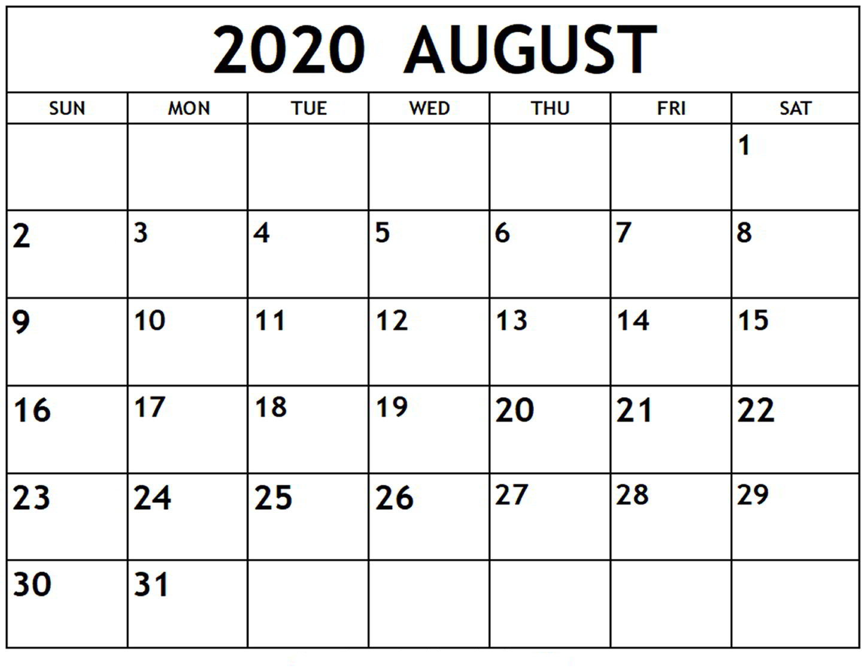 Online August 2020 Calendar Printable Usa School Holidays in July And August 2020 Calendar Printable
