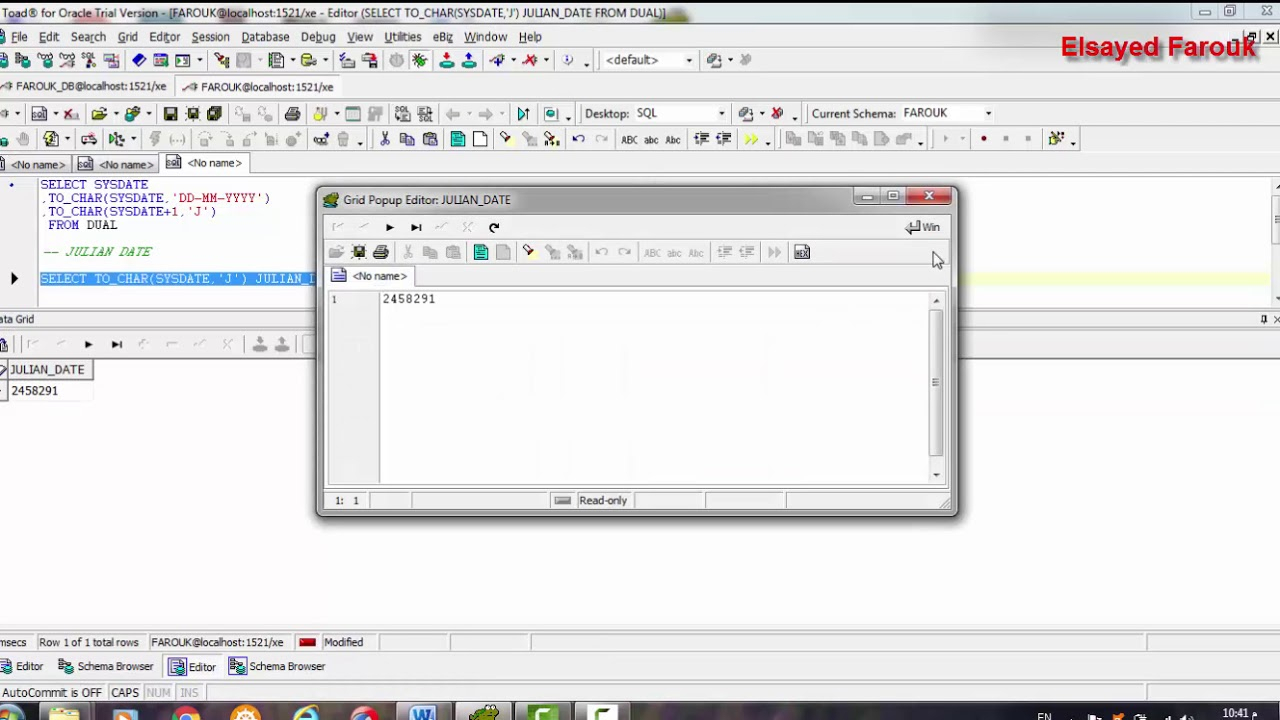 Oracle Database How To Select Gregorian Date To Julian Date  Sql Plsql pertaining to Julian Date In Java