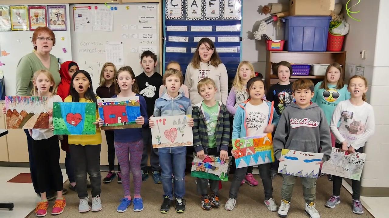 Our Canada  G. H. Dawe School  Grade 3:4  C150 Essay with G.h. Dawe School