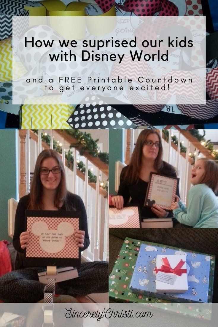 Our Disney Reveal And A Countdown Calendar Printable regarding Disney World Countdown Calendar Printable