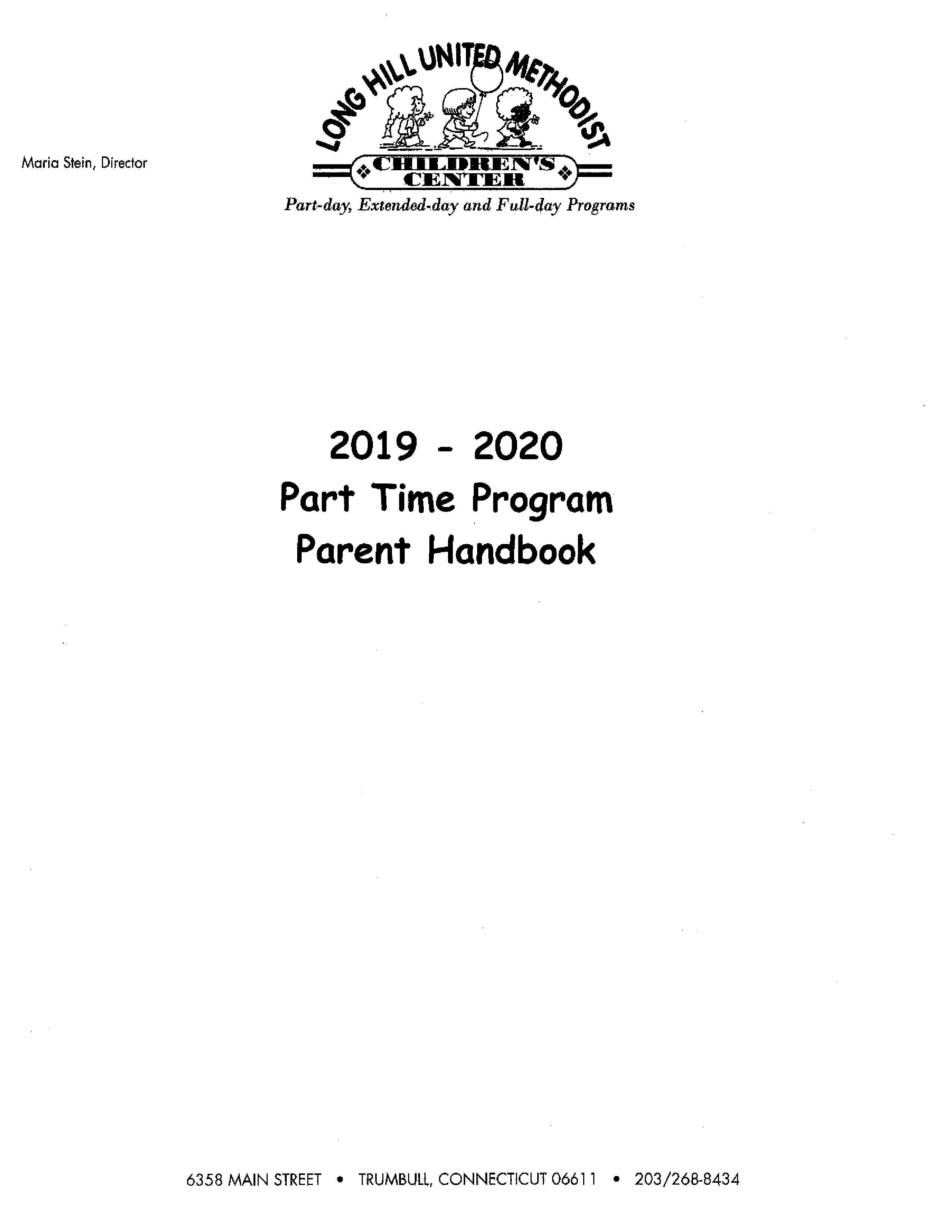 Parttime – Long Hill Um Children's Center throughout Trumbull School Calendar