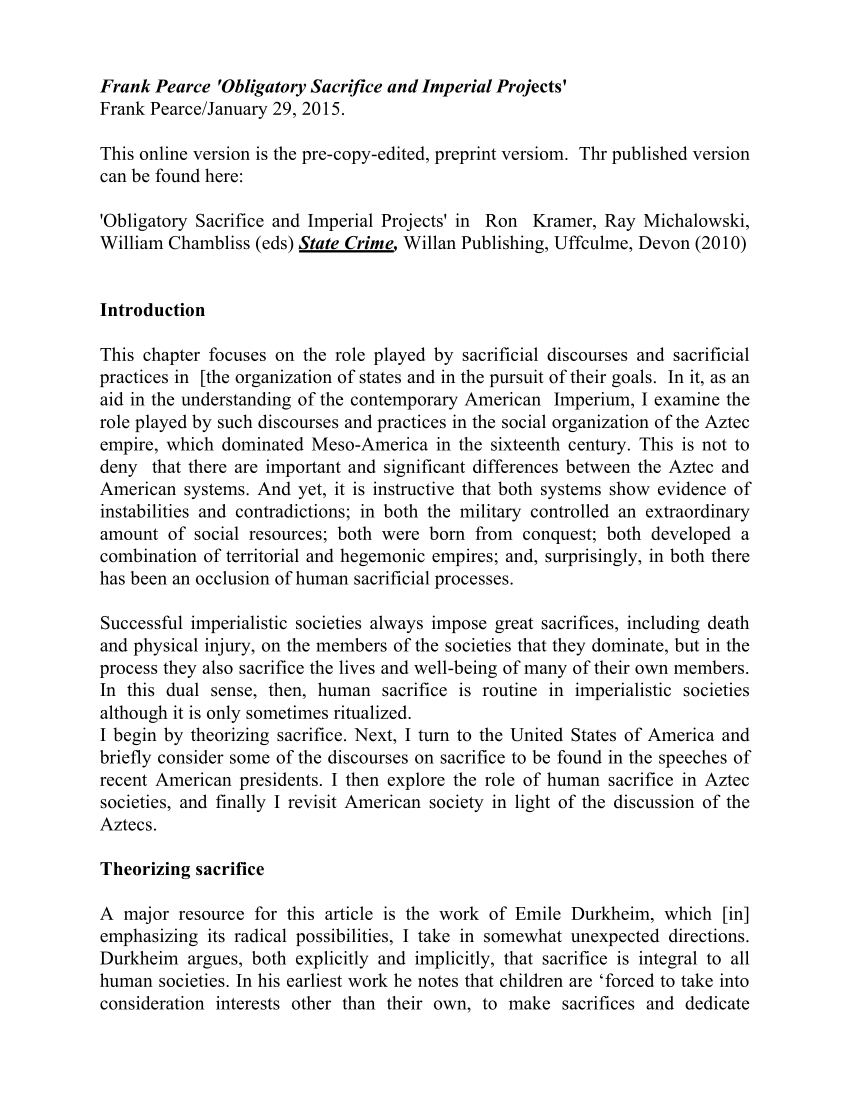 Pdf) The Radical Durkheim E Book Edition (2013) in Zinco Corp Was A Calendar Year S Corporation