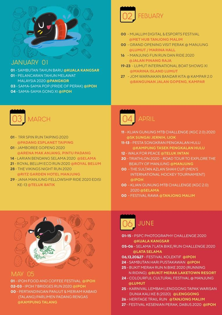 Perak Calendar Of Events 2020 | From Emily To You in Emoji Blitz Calendar 2020