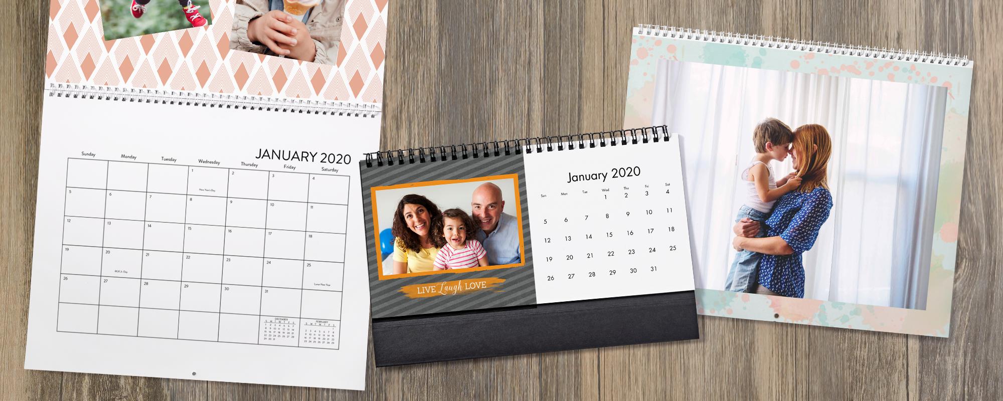 Personalized Calendars  2020 Photo Calendars At Cvs Photo pertaining to Cvs Desk Calendar