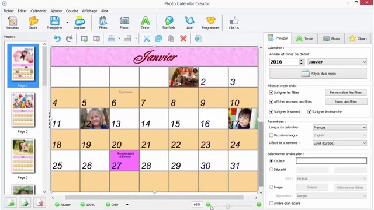Photo Calendar Creator 7.25 Crack for Calendar Creator For Windows 10