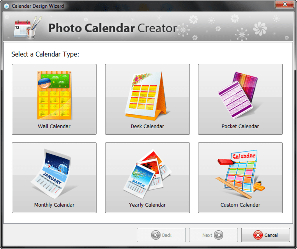 Photo Calendar Creator  Download with regard to Calendar Creator Windows 10