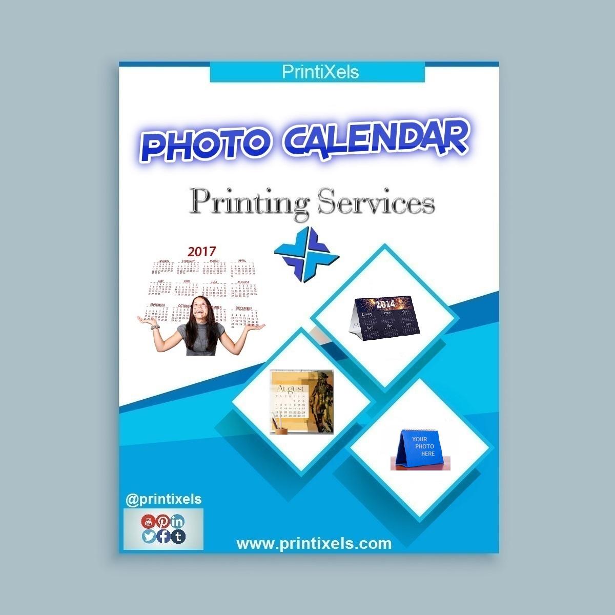 Photo Calendar Printing Services | Printixels™ Philippines with regard to Calendar Printing Services Philippines