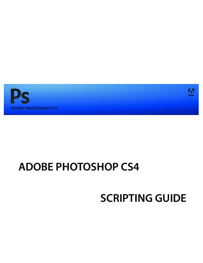 Photoshop Cs4 Scripting Guide  Baixar Pdf De Docero.br for Script Calendario Photoshop