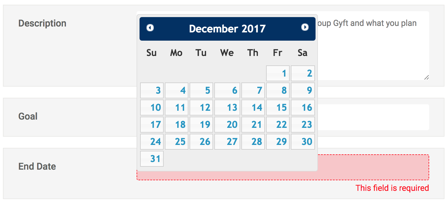 Php  Yii2  Stop Field Validation If Calendar Is Open with regard to Php Calendar Date Picker