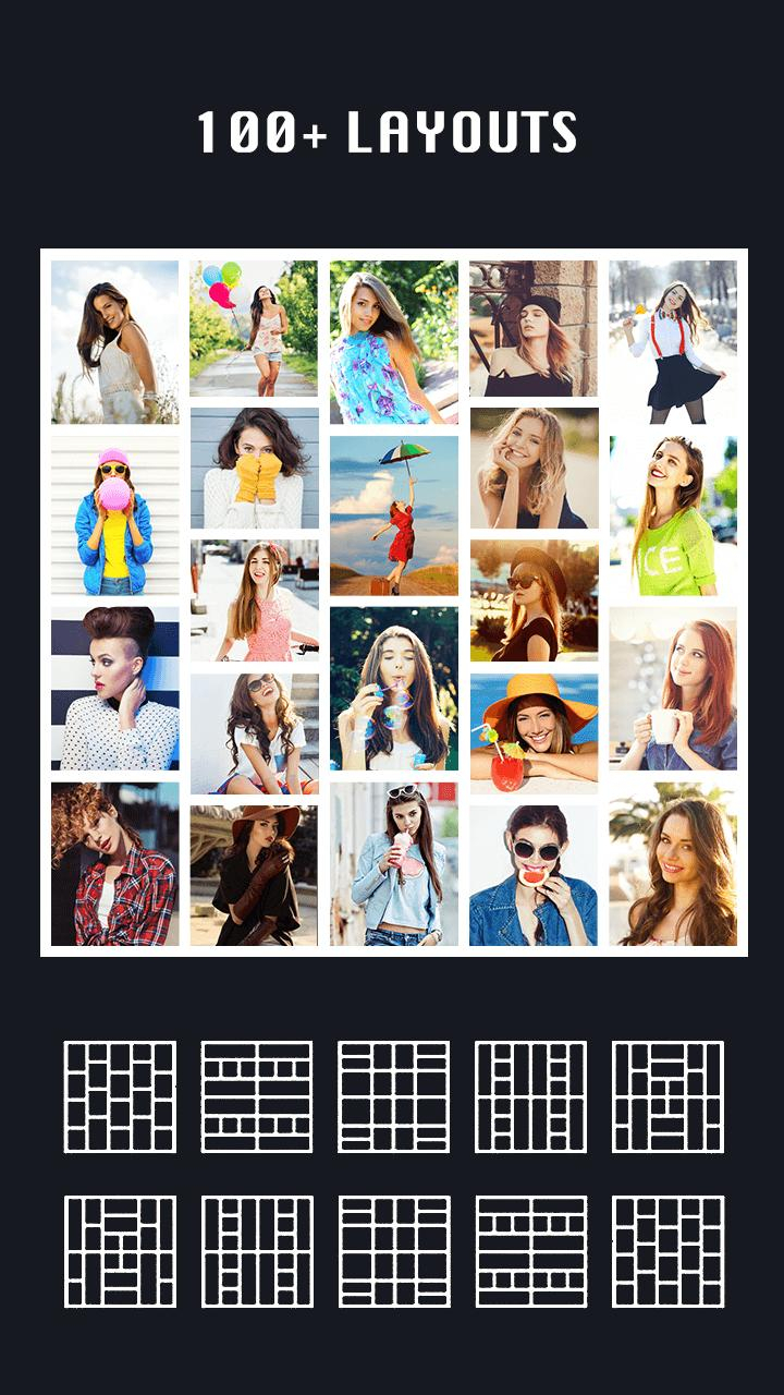 Pic Collage Maker Photo Collage& Photo Editor For Android intended for Collage Calendar Maker