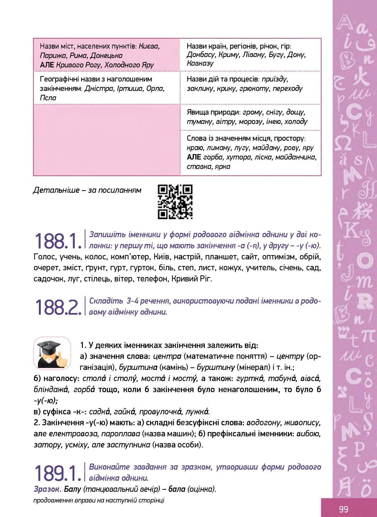 Pick_Ukrainska_Mova_Md_10_Svintkovska Pages 101  150  Text inside Calendar Lunar De Frumusete