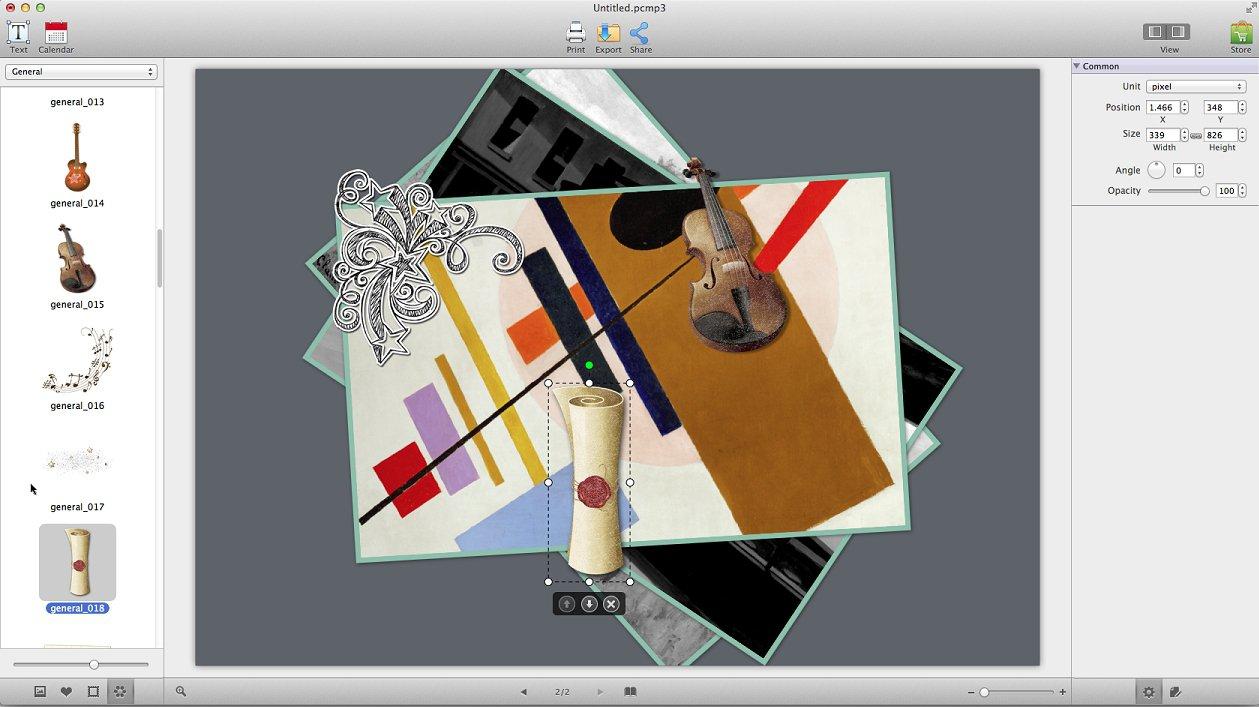 Picture Collage Maker 3.7.3  Скачать Для Mac Бесплатно within Collage Calendar Maker