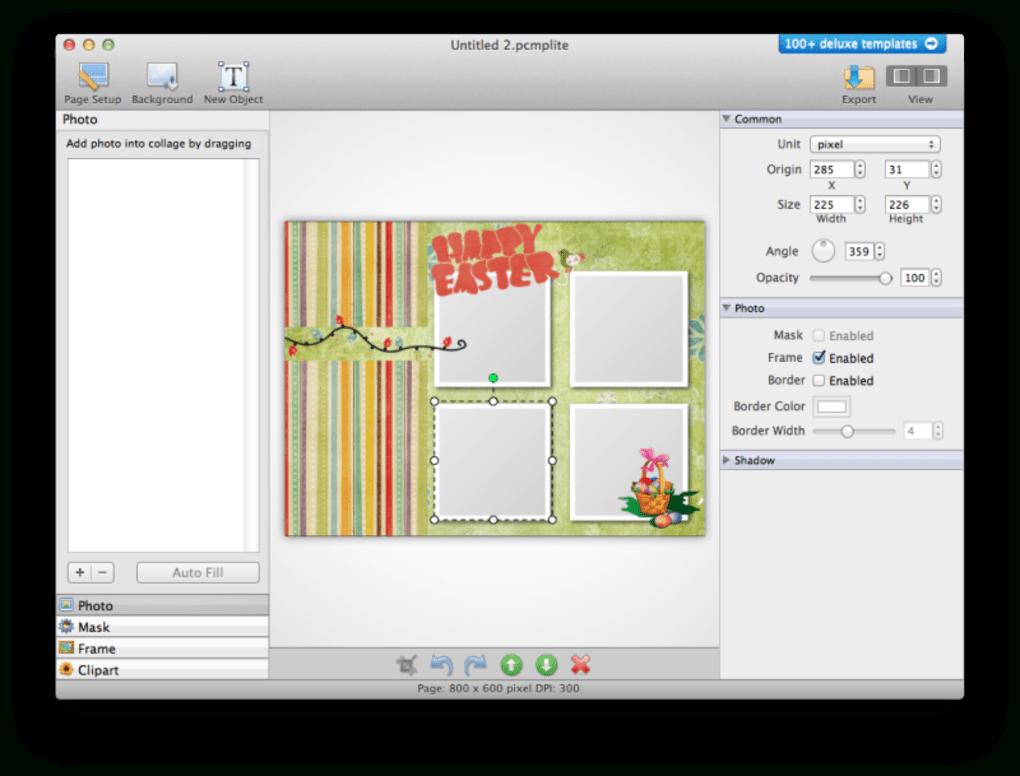 Picture Collage Maker Lite For Mac  Download for Collage Calendar Maker
