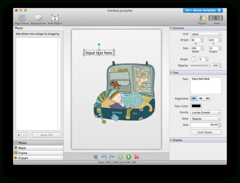 Picture Collage Maker Lite For Mac  Download throughout Collage Calendar Maker