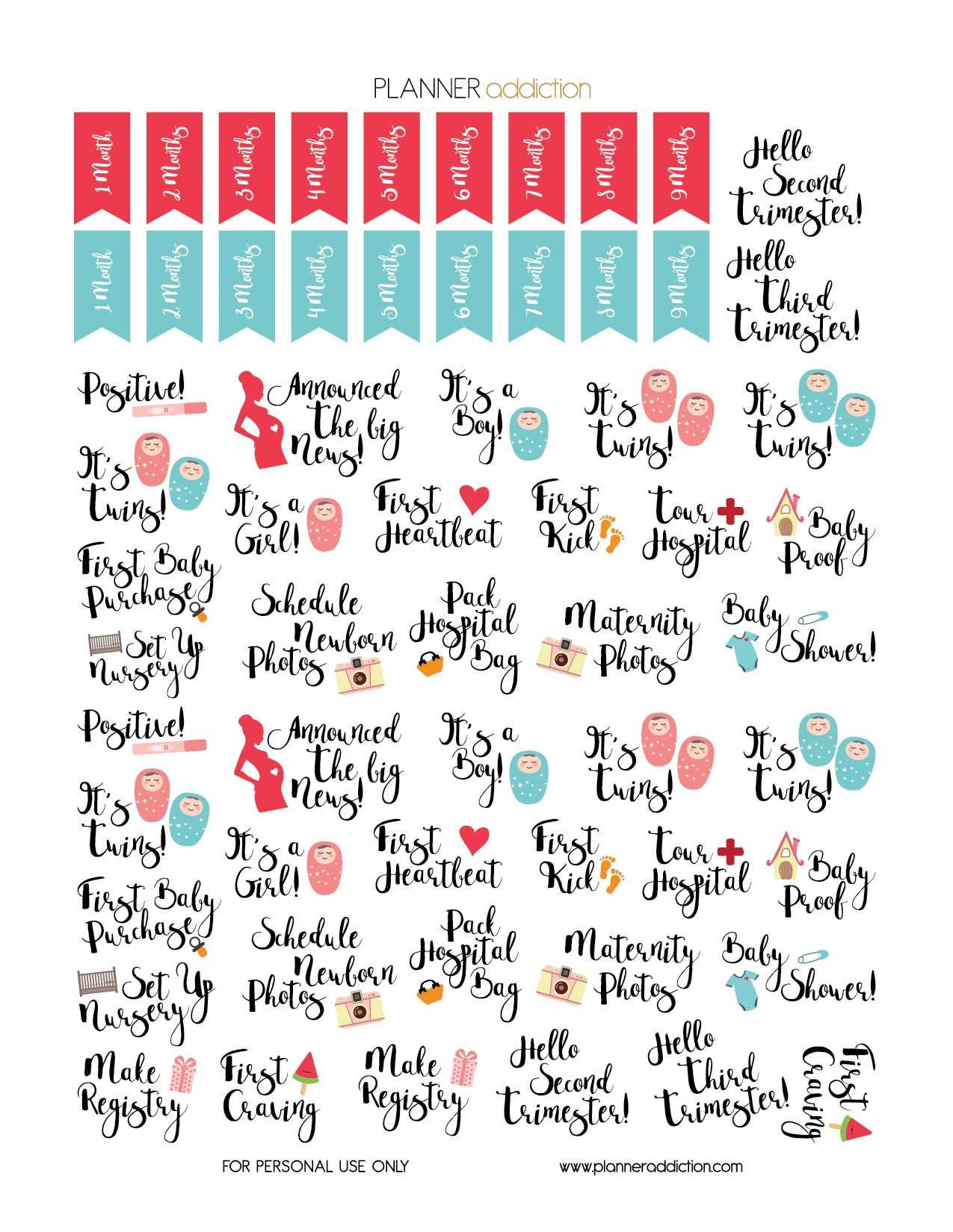 Pin On Pregnancy Journeyprintable Pregnancy Calendar throughout Printable Pregnancy Calendar