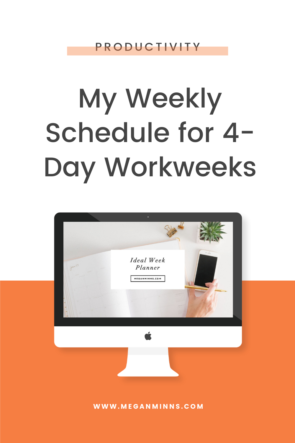 Pin On Productivity throughout 5 Days A Week Planner