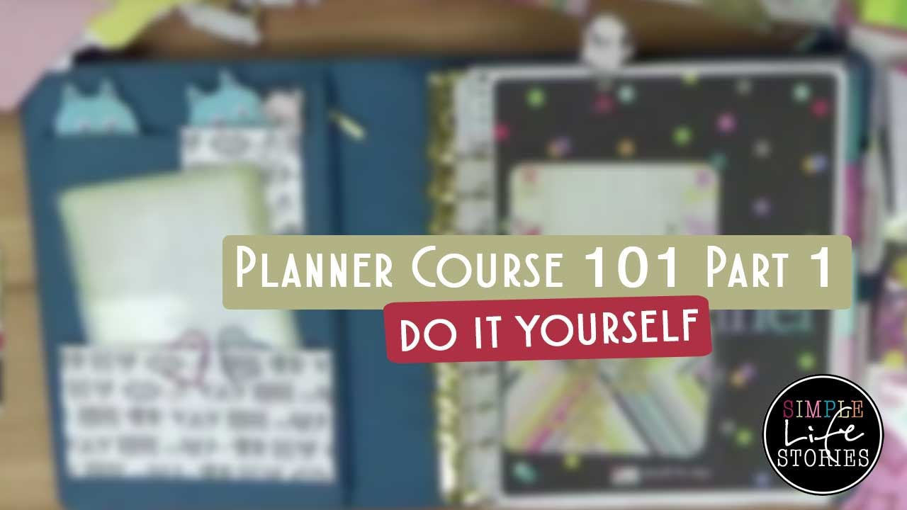 Planner Course 101 Part 1  All About Planners (Erin Condren) within All About Planners