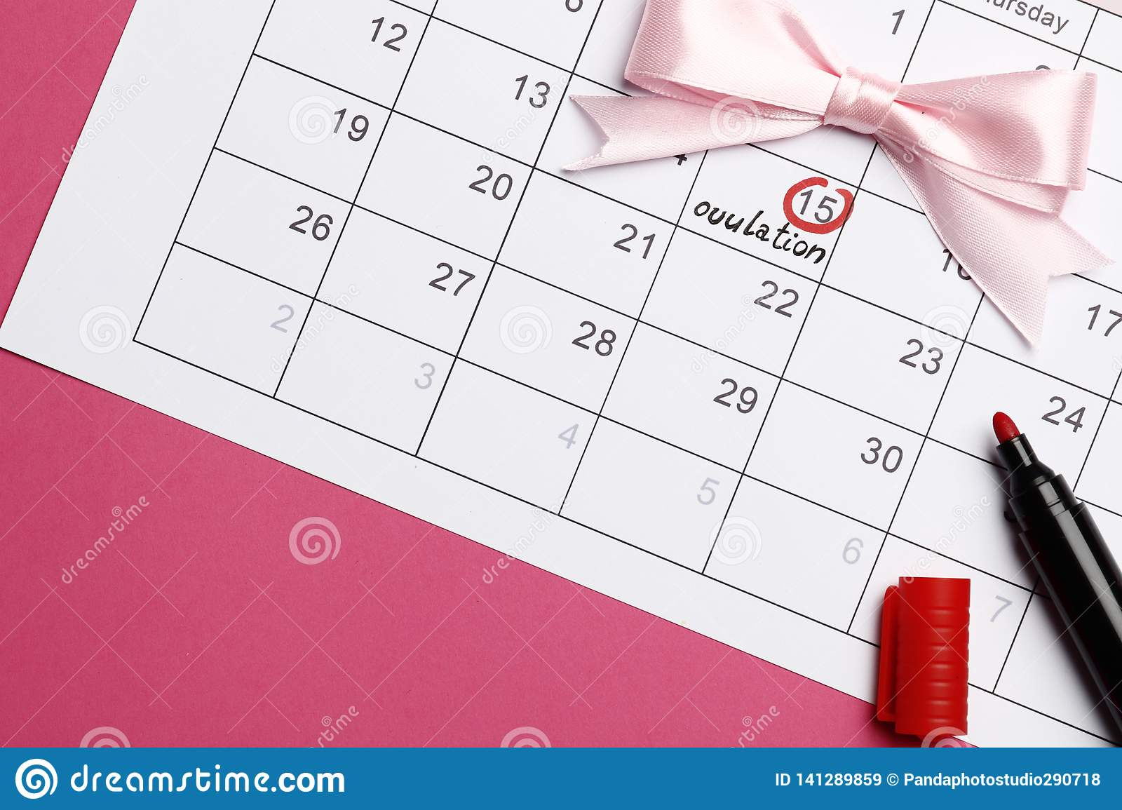 Planning Of Pregnancy Stock Image. Image Of Days, Hormone with Pregnancy Calendar Day By Day Pictures
