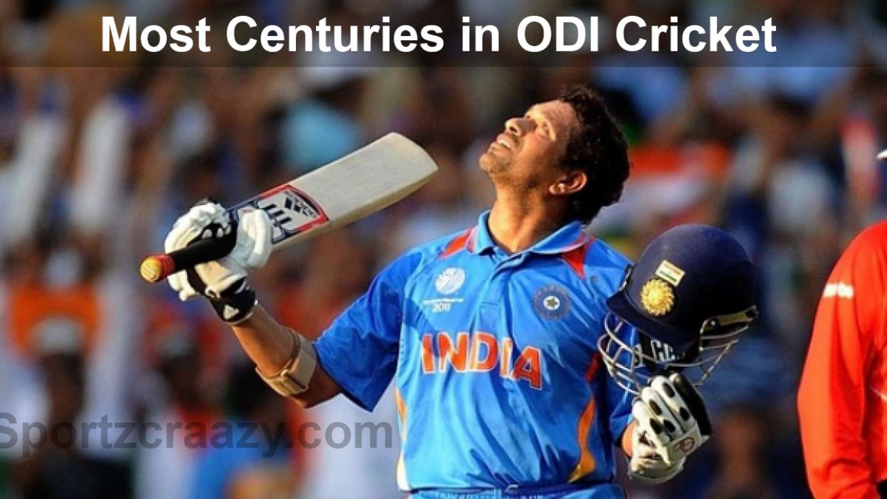 Players Who Scored Most Centuries In Odi Cricket Matches in Most Centuries In Odi In A Calendar Year