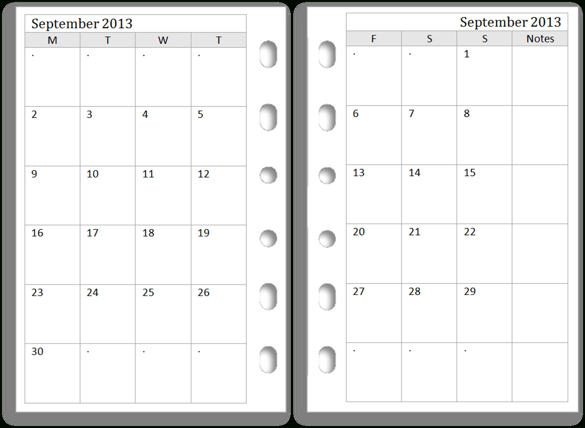 Pocket Calendar Template Microsoft Word | Create Your Own with Printable Pocket Calendar