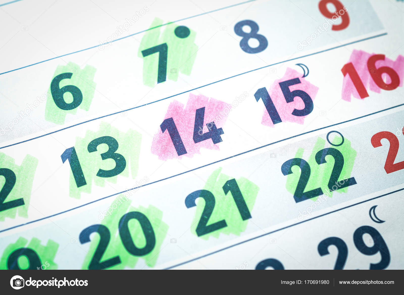 Pregnancy Calendar Background — Stock Photo © Bisonov #170691980 inside Pregnancy Calendar Day By Day Pictures