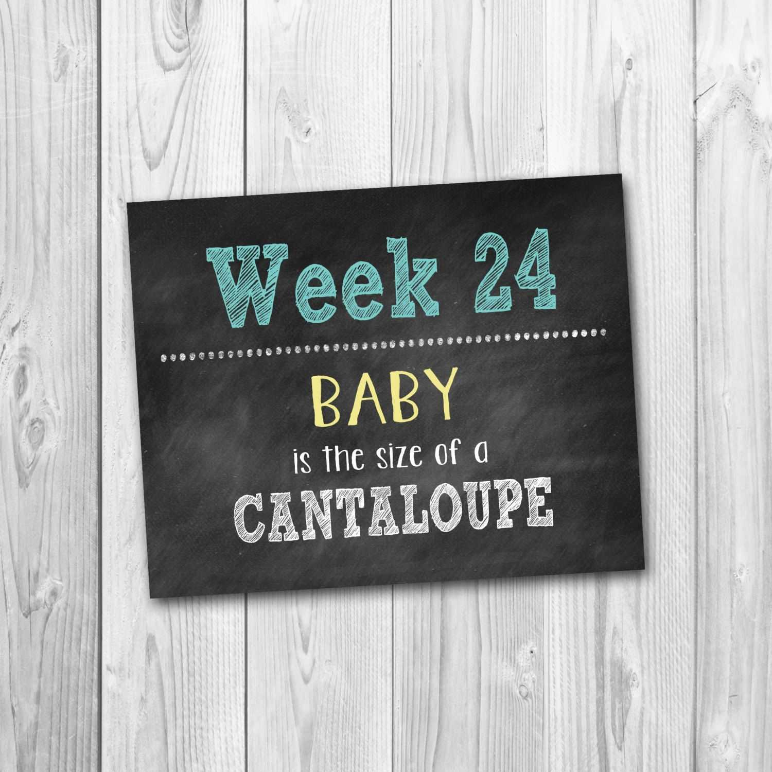 Pregnancy Calendar Countdown, Chalkboard Printable with Printable Pregnancy Calendar Week By Week