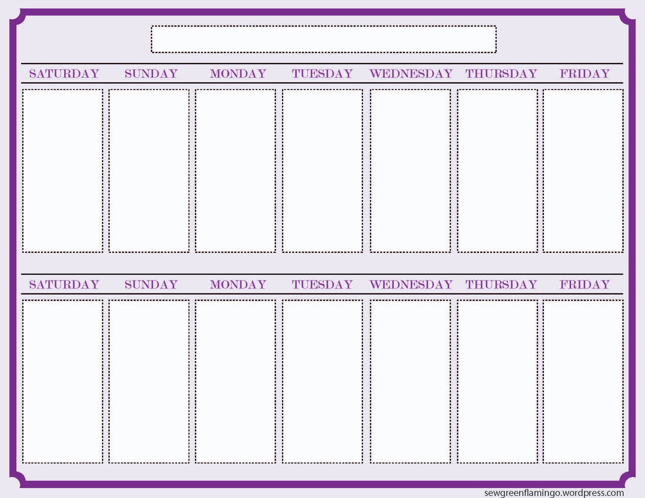 Print Off Year Long Calendar | Blank Calendar Template pertaining to Year Long Calendar Template