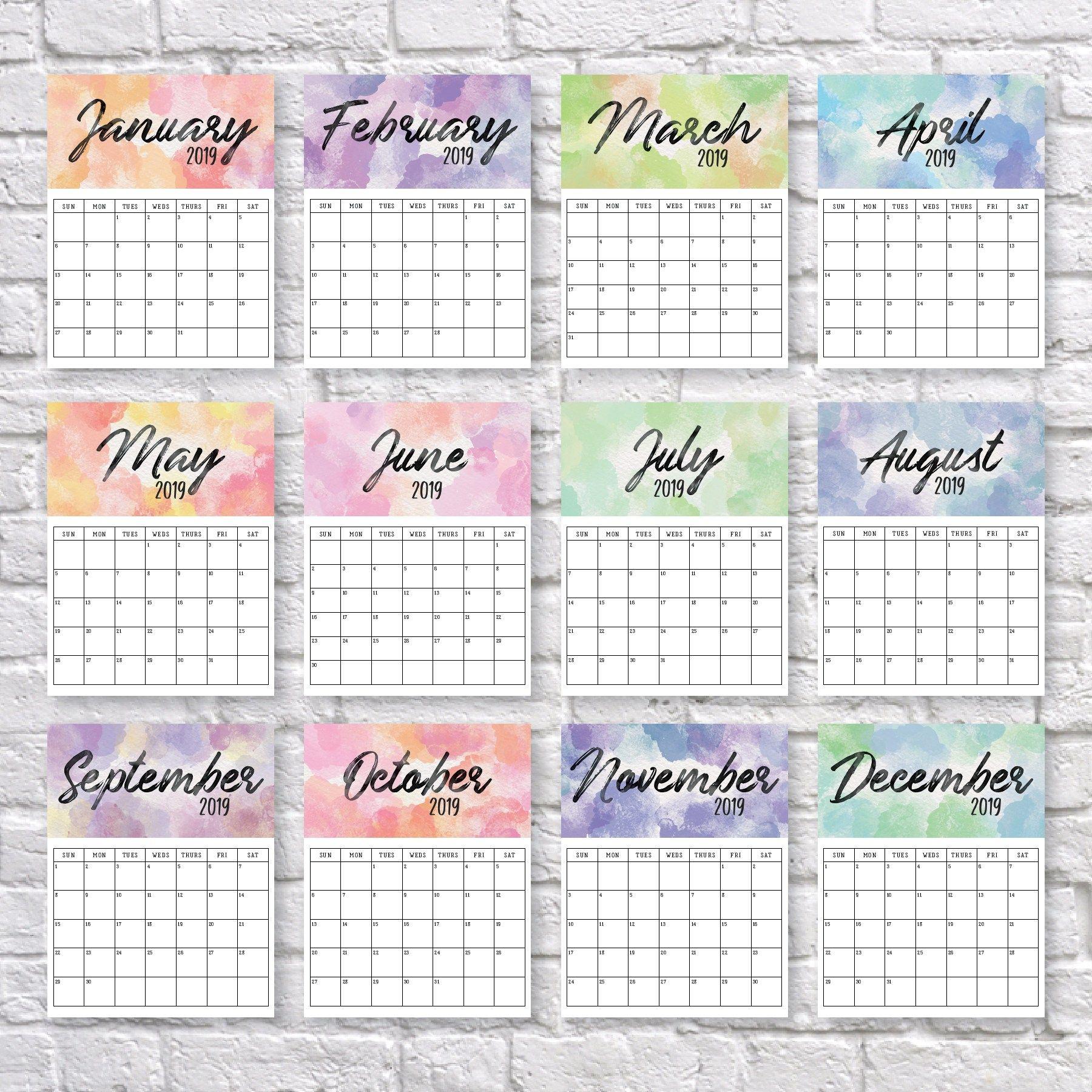 Printable 2020 Calendar | Календарь Для Печати, Календарь И intended for Printable 2020 Wallet Calendar