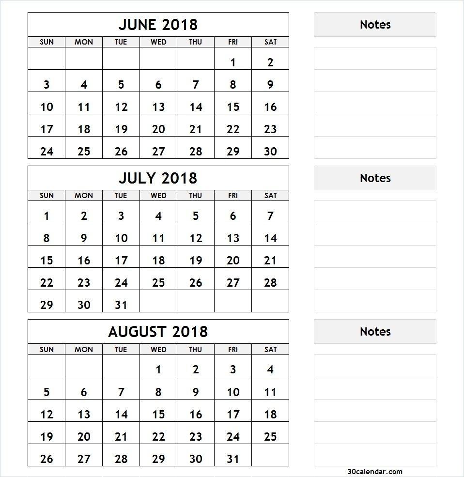 Printable 3 Month Calendar   Monthly Printable Calender in Printable Calendar 3 Month