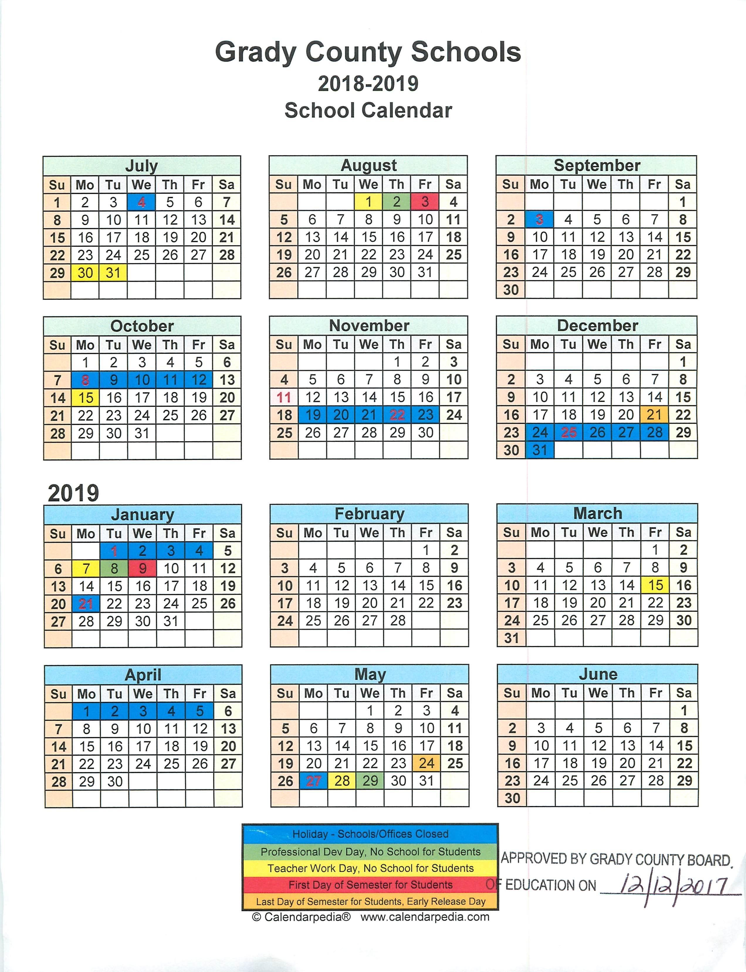 Printable Academic Calendar 2020 16  Bolan.horizonconsulting.co regarding Berkeley 2020-2020 Calendar