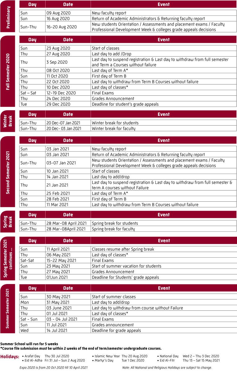 Printable Academic Calendar 2020 16  Bolan.horizonconsulting.co within Berkeley 2020-2020 Calendar