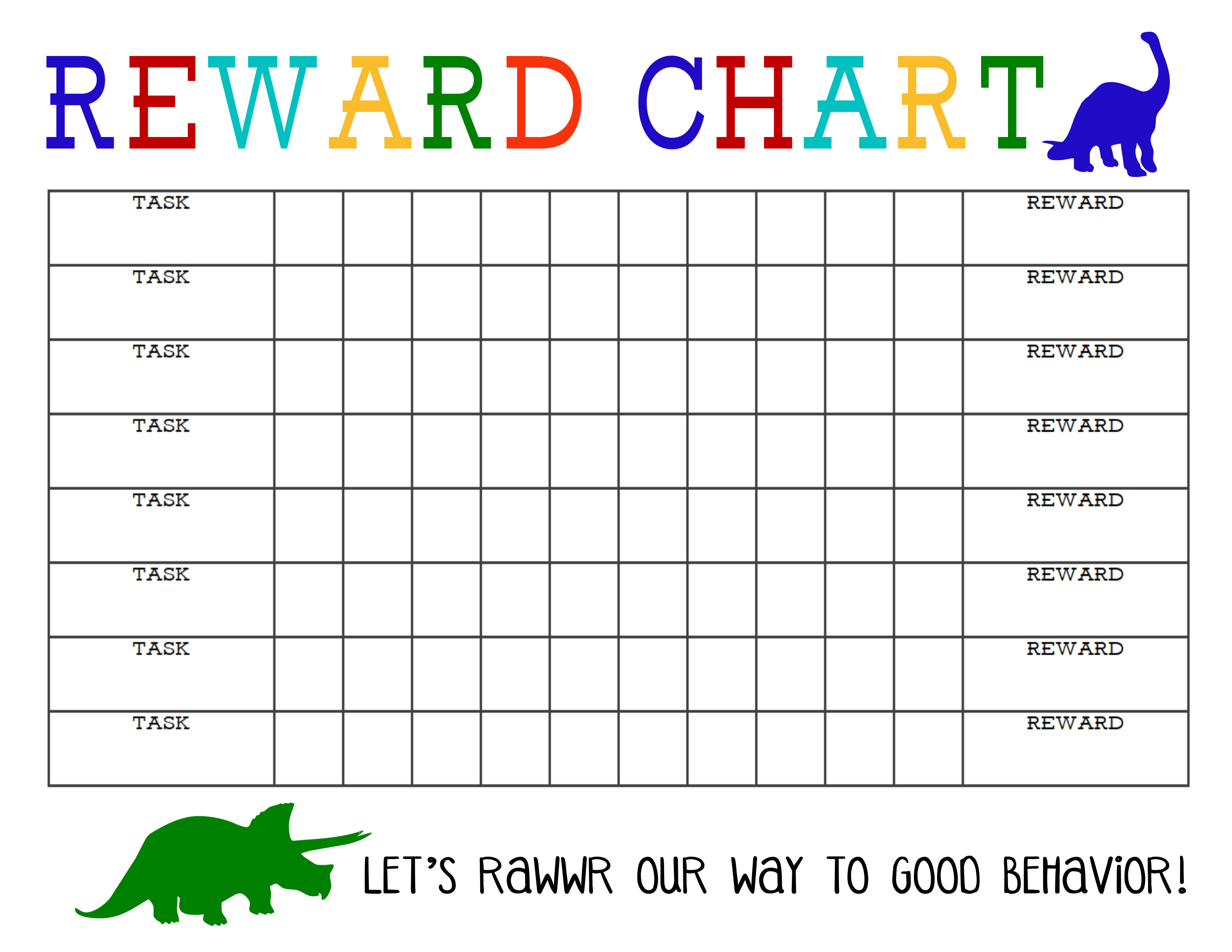 Printable Award Chart  Bobi.karikaturize within Monthly Sticker Chart