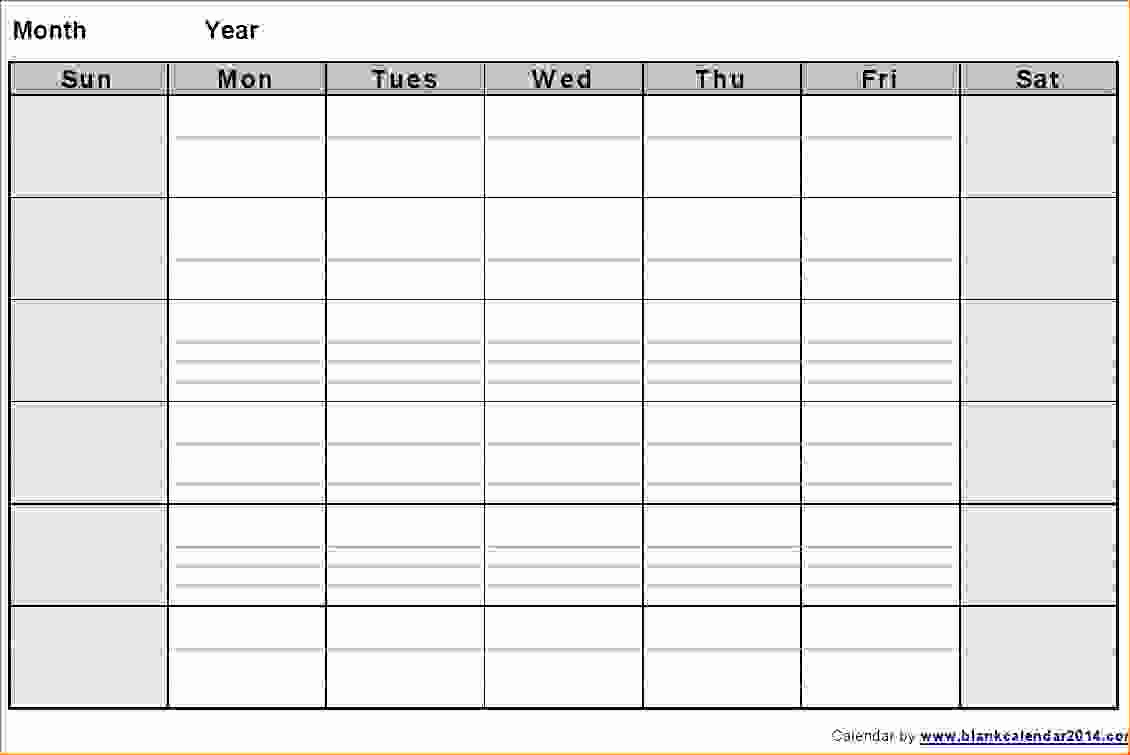 Printable Blank Two Week Calendar throughout Two Week Printable Calendar