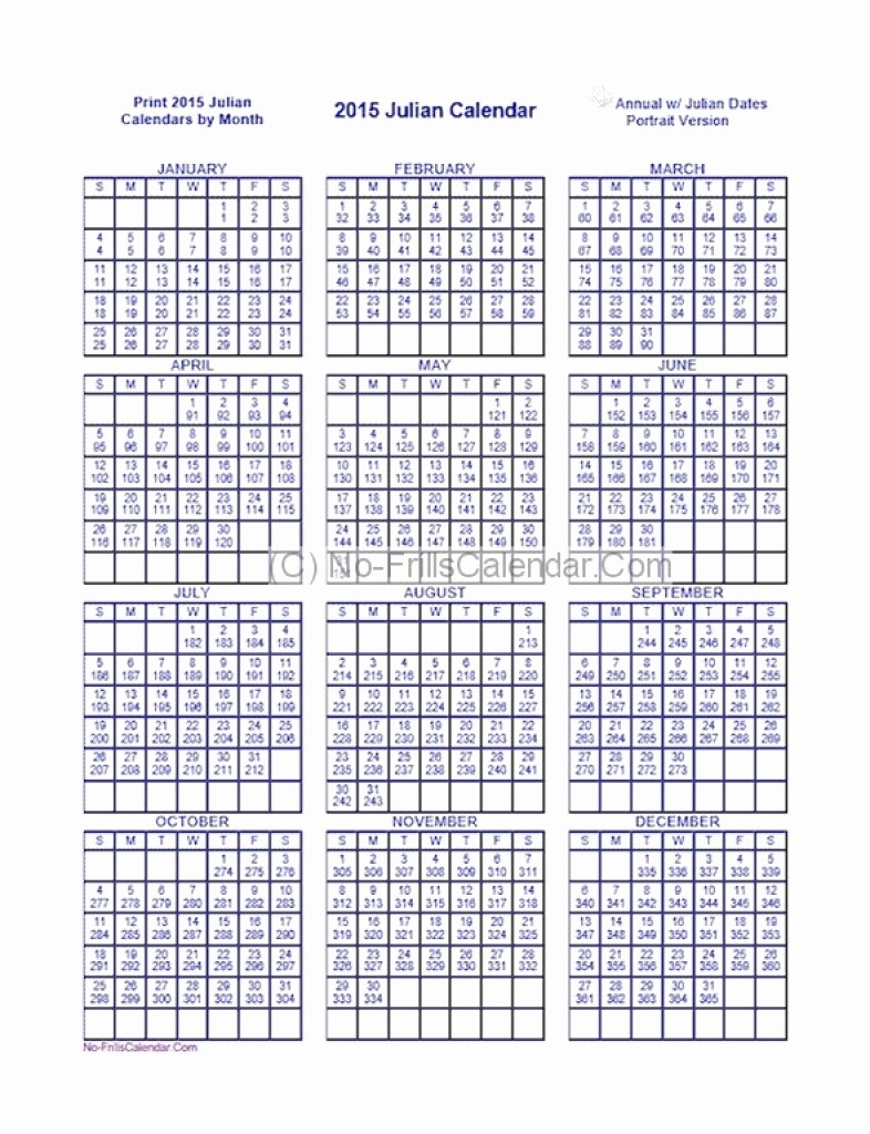 Printable Calendar 2018 Julian Dates | Printable Calendar with regard to Julian Date Calendar 2018